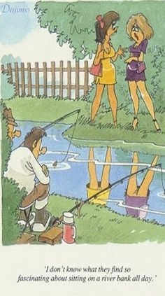 Now everybody's know why we like, lake fishing