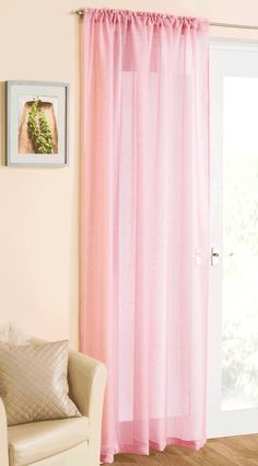 Casablanca Voiles and Swags. Available in various sizes and colours. Swags Each. Tab Top Curtains, Voile Curtains, Pink Curtains, Room Darkening Curtains, Thermal Curtains, Voile Panels, Sheer Curtain Panels, Curtain Rods, Home 21