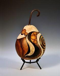 carved gourd!