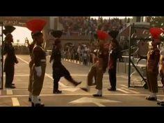 India and Pakistan Wagah Border Closing Ceremony