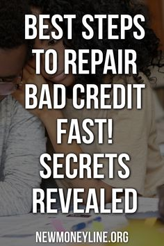 Are you ready for some steps to repair bad credit fast! If you are like most people, your score is not where you would like it to be. One of the first steps to repair bad credit fast is to get copies of your credit report and score from each of the three major credit bureaus. These credit bureaus are Equifax, TransUnion and Experian. After you receive your credit reports to go over them with a fine tooth comb. #creditrepairtips #credittips #debtfree #howtopayoffdebt Fix Bad Credit, Credit Repair Services, Improve Your Credit Score, Credit Bureaus, Credit Report, Free Advice, Secrets Revealed, Payday Loans, Debt Payoff