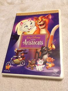 The Aristocats DVD Movie Special Edition | eBay