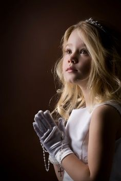 Children ~ Lovely First Communion Photo