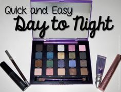 Easy Day to Night with Urban Decay's Vice 2 Palette! via @15 Minute Beauty
