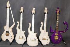 Prince's guitars: Model C, Cloud, Habibi