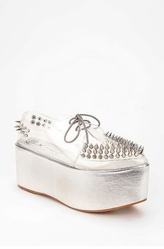 #Jeffrey Campbell #Platform Sneakers #Spikes
