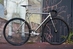 Titanium GT Track Bike! by Tracko    via Flickr