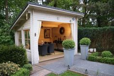 Angle Roof ~ Potting & Storage Shed ~ Like the Added Height