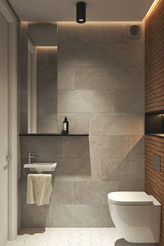 Top bathroom design - Interior Design Project in Contemporary Style by Geometrium – Top bathroom design Contemporary Interior Design, Modern Bathroom Design, Bathroom Interior Design, Contemporary Style, Modern Bathrooms, Design Kitchen, Interior Paint, Modern Interior, Modern Art