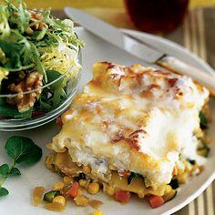 Garden Lasagna Recipe - Health Mobile