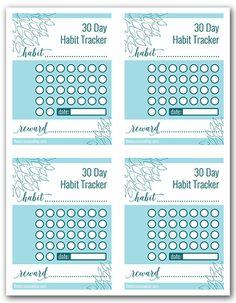30 Day Habit Tracker