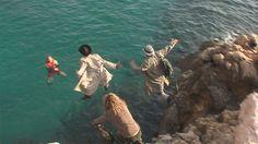 Freu del Morro Sal -entorno de La Illeta- secuencia para el largometraje 'Croton el Grande'