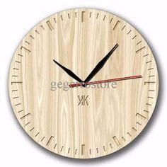 Jam Dinding Motif Texture Kayu - Handicraft Unik Wall Clock - Kool Katz efd3fef10b