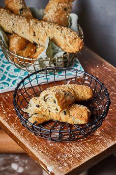 Olívás stangli | Street Kitchen Bread, Kitchen, Street, Food, Cooking, Brot, Kitchens, Essen, Baking