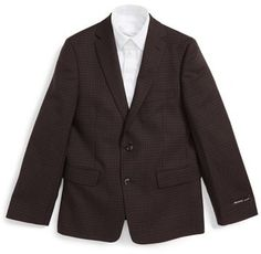 Boy's Michael Kors Check Wool Blazer Teen Guy, Blazers, Suit Jacket, Michael Kors, Wool, Guys, Stylish, Check, Jackets