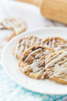 Cinnamon Roll Sugar Cookies are the best part of breakfast and dessert all in one. Enjoy your easy to make cinnamon roll cookies any time of the day!