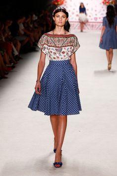 Berlin Fashion Week: Lena Hoschek Show Frühjahr/Sommer 2016