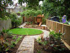 Garden Landscape Design Uk Best Of Long Thin Suburban Floral & Hardy London Urban Garden Design, Garden Landscape Design, Small Garden Design, Small Garden Layout, Small City Garden, Narrow Garden, Small Country Garden Ideas, Farmhouse Landscaping, Backyard Landscaping