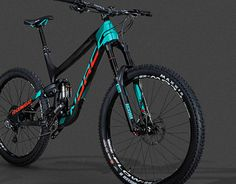 2016 Norco bike graphics. Creative direction and design of the frame graphics as well as work with the manufacturer directly to ensure color consistency and print production methods. Component graphics and color design.