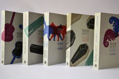 Truman Capote - Book Series by Nikola Klímová, via Behance