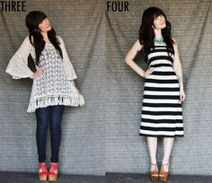 I love this girl's blog ... lots of fun DIY stuff and some great outfit ideas.