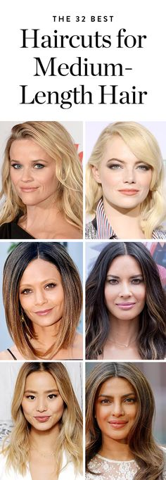 32 Celebrities with the Best Medium-Length Haircuts. #purewow #hairstyles #mediumhair