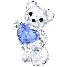 Exclusively available online, the iconic Swarovski Kris Bear holds a blue crystal heart representing the birthstone of September. This creation is... Shop now
