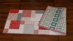 An Old Fashioned Christmas Table Runner by YoureSewLoved on Etsy,