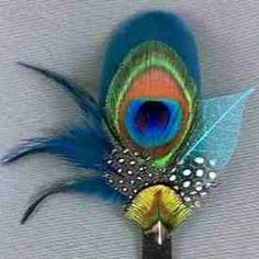 Peacock feather Boot