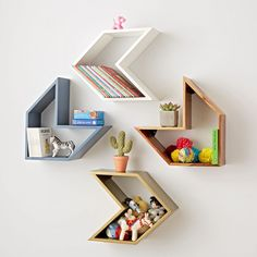 Arrow White Shelf
