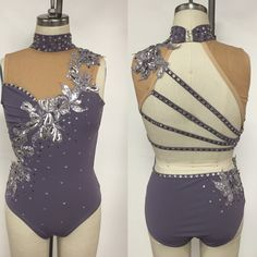 Youth XL bodysuit with stunning sequin applique.  Youth XL sizing:  Bust:28-30.5 Waist:23-25 Hips:29.5-31.5 Girth:48-51