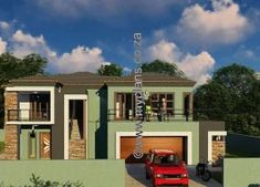 5 Bedroom House Plan MLB-1815D – My Building Plans South Africa My Building, Building Plans, 6 Bedroom House Plans, Luxury House Plans, Mlb, South Africa, How To Plan, Mansions, House Styles