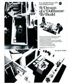 Woman's Day Dollhouse Furnishings