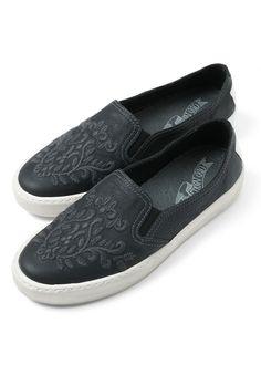 Odd Molly Sneakers - All Mine slip-in Sneakers 616M-898 asphalt – Acorns