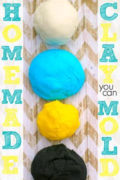 homemade modeling clay that hardens