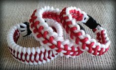 Baseball Bracelets survival / paracord type cctack@hotmsil.com to order