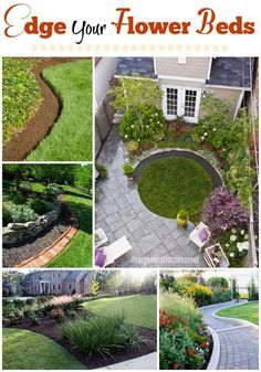 Finish off your garden or walkway with the perfect edge. How to edge your flower beds
