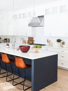 The 8 Best Paint Colors for Your Kitchen, According to the Pros via @MyDomaine