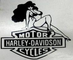 Harley Davidson Logo Vinyl Sticker Decal 6 Wide Pick Color
