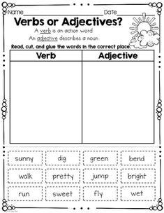 Spring Break Homework Packet: First Grade Grammar Activities, Teaching Grammar, Grammar Lessons, 2nd Grade Activities, Writing Lessons, Teaching Spanish, English Grammar Worksheets, School Worksheets, 2nd Grade Worksheets