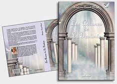 création graphique de couverture de livre Photomontage, Carton Invitation, Graphic, Bookends, Creations, Home Decor, Book Covers, Charts, Impressionism