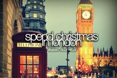 Spend Christmas in London. On my bucket list!!!!!!!!! Goal by 2015 #citybiz www.londonrelocationservices.com