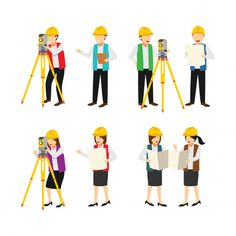 Construction, Vector Photo, Social, Character, Polymer Clay, Glamour, Cartoon, Building, Vector Graphics