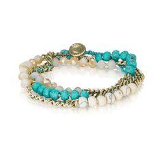 Turquoise Multi-Wrap Bracelet