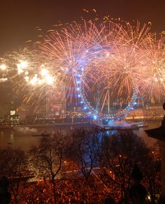 NYE in London... a great way to see 2013 in :)