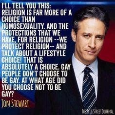 Jon Stewart - every day I love him more.
