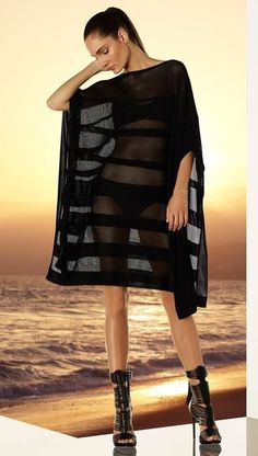 Hervé Léger By Max Azria Resort 2015 collection Max Azria, Swimsuits, Bikinis, Swimwear, Herve Leger Dress, Swimsuit Cover Ups, Rocker Girl, Bcbgmaxazria Dresses, Resort Wear