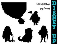 This listing is for an INSTANT DOWNLOAD of silhouettes inspired by the movie UP, which you can see in the image above. You will receive all the images in which you see. :::Silhouettes are perfect for a variety of projects, from wall art to invitations to party designs::: :::Not sure how an instant download works?:::  When you purchase this listing, you will be able to instantly download it once your payment clears! There will be nothing mailed to you! This is a digital file! :::Thanks again…