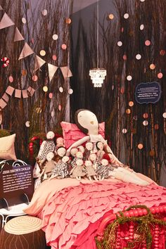 Jess Brown Dolls taking a snooze.