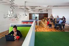 office breakout work space